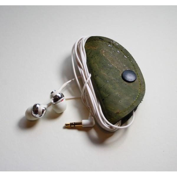 Kabelhalter Kabor olivgrün