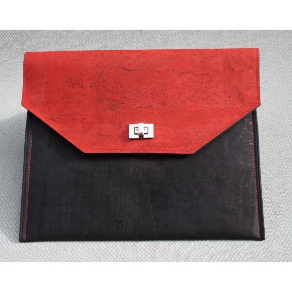 Tablethülle Darian rot-schwarz