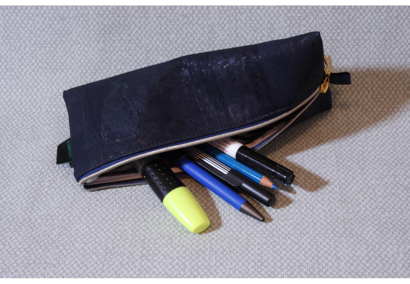 Stiftemäppchen Stima  dunkelblau
